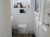 Toilet benden na